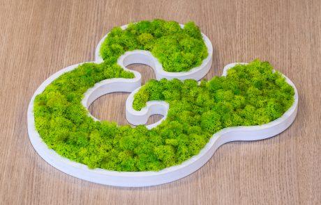 Loghi e scritte vegetali - grafica personalizzata