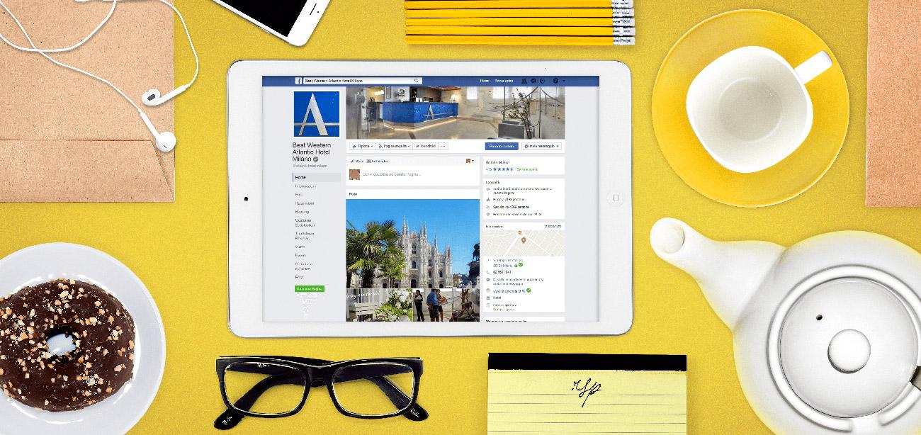 Gestione pagine Facebook, Instagram e Google Plus aziendali