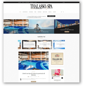THALASSO & SPA portale web - Guida al Turismo del Benessere